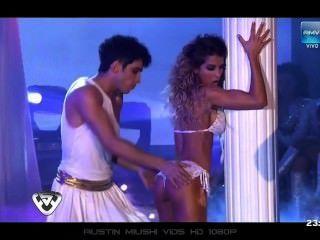 Cinthia Fernandez - Bailando 03.10.11