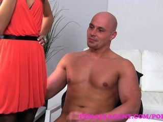 Femaleagent. Confident Stud Finshes Casting With A Sexy Creampie