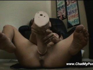 Busty Milf Dildo Masturbation Live - Chatmypussy.com