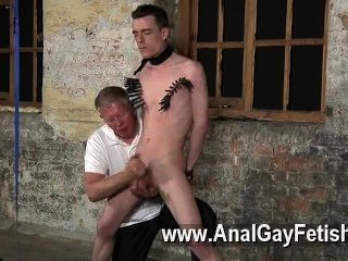 Gay Orgy With His Soft Pouch Tugged And His Dick Stroked And Sucked,