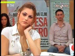 Miriam Leone Sexy Camicia