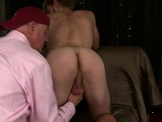 I Get Str8 Hot Blond Robbie Ready To Fuck Me On His 4th Return Visit.