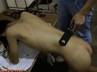 Asian Slave Boy Spanking