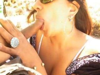 Margarita Blowjob At The Beach