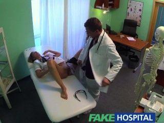 Fake Hospital Hot Nurse Rims Her Way To A Raise