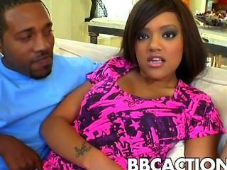 Busty Babe Fucked By Black Cock