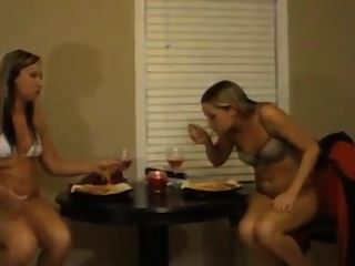 Sexy Bikini Eating Contest