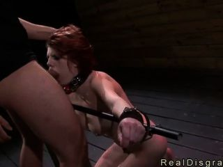 Bdsm Big Tits Redhead Deep Throat