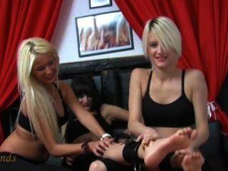 European Girls Love To Tickle 2