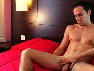My Best Friend Gets Wanked His Huge Cock By Me On Video !