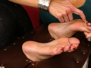 Tickled Soles By Carla Cox In The Stock