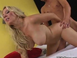 Hot Blonde Milf Banging