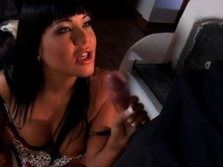 Green-eyed Angelica Fucked In The Ass