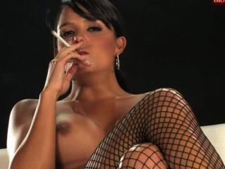 Sasha Cane Smoking And Masturbating 4