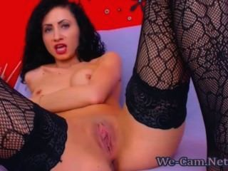 Top Rated Hot Girl Chatting And Masturbates Dildo Webcam Show