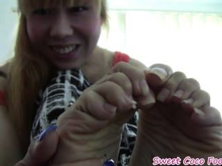 Japanese Girl Foot Joi