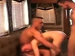 Two Guys Fuck A Young Boy Bareback