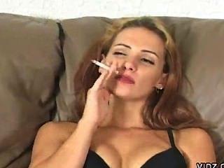 Masturbating Smoking