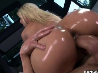 Blonde With Hot Ass
