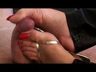 Sandel Foot/foot Job