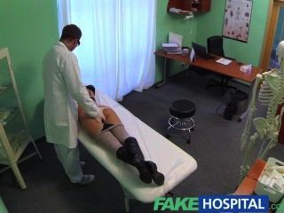 Fakehospital Perfect Busty Slim Patient Loves The Doctors Cock Cure