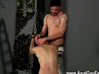 Gay Jocks Aiden Can Do Nothing As Insane And Sadistic Adam Circles Him,