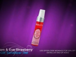 Best Clitoral Stimulator ★adam And Eve's Strawberry Clit Sensitizer Gel