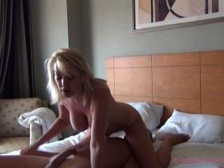 Milf Christie Suck & Fuck Hubby