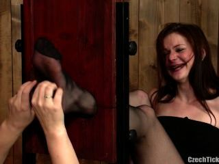 Nylon Foot Tickling - Petra