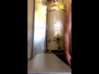 Wanking In The Boiler Room