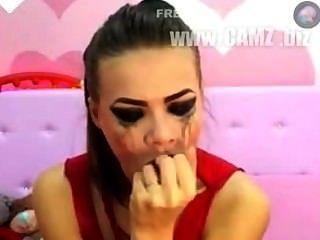 Crazy Deepthroat Girl 1  Hardcore