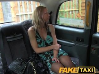 Faketaxi Blonde Polish Babe With Hot Body And Tits