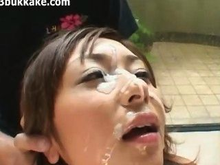 Japanese Messy Bukkake Time