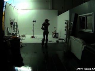 Brett Rossi Behind The Scenes