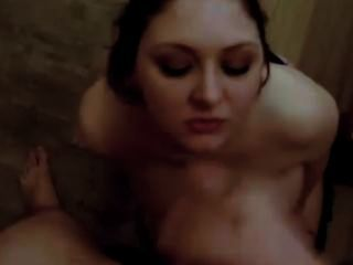 Dirty Slut Sucks Cum Out Of Cock For Drugs