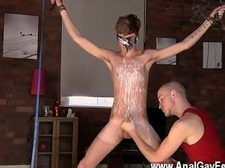Twink Movie Kieron Knight Loves To Blow The Hot Spunk Geyser Right From