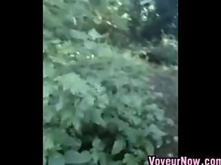 Emo Chick Sucking Cock In The Woods