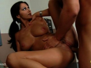 Brunette Ava Addams Gets Nailed And Facialized