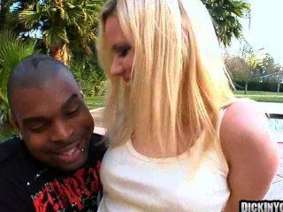Teen Blonde Cutie Eating Massive Black Cockm 06
