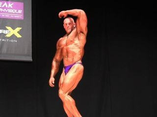 Muscledad Mark Purple Shiny Posers