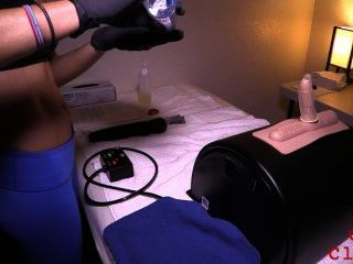 Patient Gets Milked On Sybian