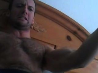 Hairy God Tied Showing Hot Armpits