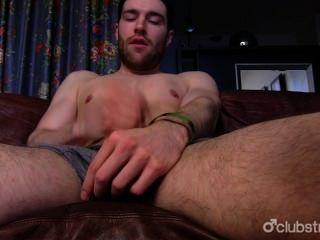 Handsome Straight Guy Tommy Masturbating