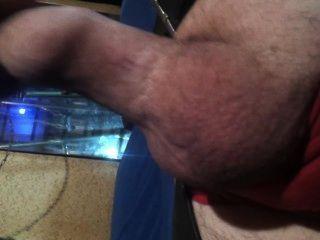 Thumb In Foreskin Play
