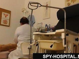 Petite Teen Caught On Hidden Cam During Medical Exam