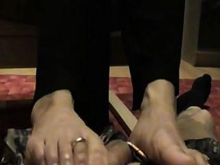 Footjob Asian Women