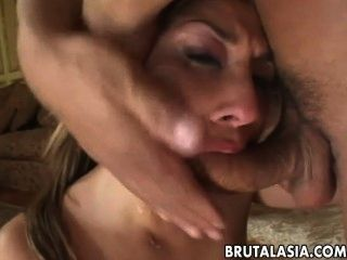 Hot Asian Gal Fucked Hard From Behind