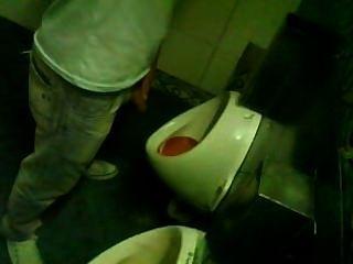Spy Urinal/ Espiando Baño De Boliche 12
