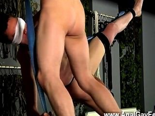 Hot Twink With His Butt Finger-tickled And Played With, He Briefly Gets A