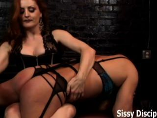 Dressed In Sexy Lingerie And Flogged By A Dominatrix